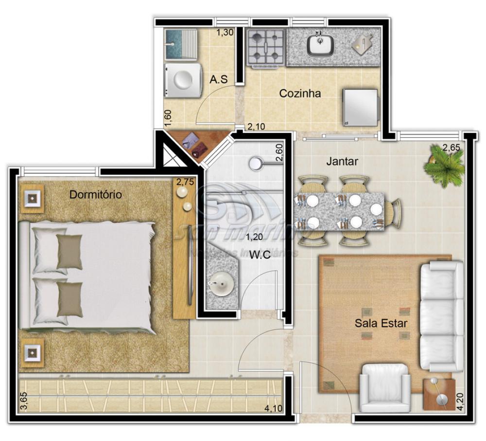 Apartamentos / Padrão em Jaboticabal - foto 2
